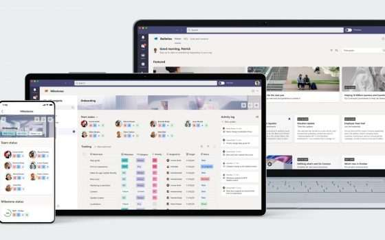 Microsoft Teams: nuove app Bulletins e Milestones