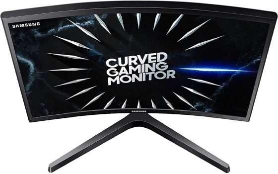 Monitor curvo Samsung: risparmio di 65€ su Amazon