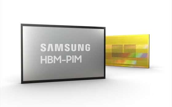 Samsung HBM-PIM, memoria con elaborazione IA