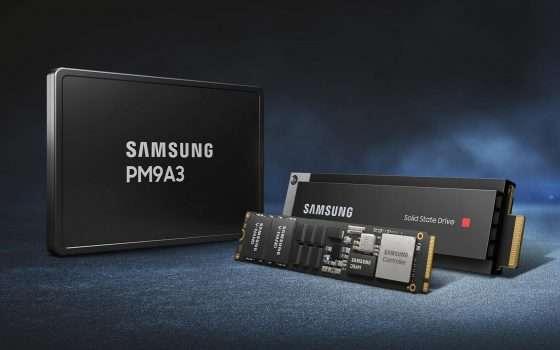 Samsung PM9A3, nuovi SSD per data center