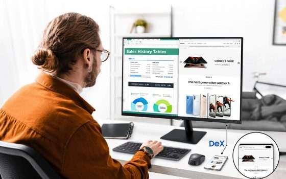 Samsung Smart Monitor M7 in offerta su Amazon