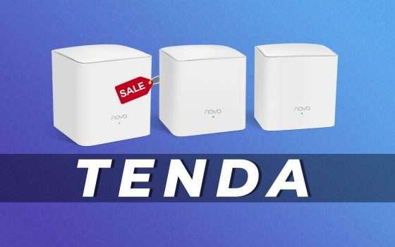 Tenda MW5: Sistema Wi-fi Mesh in offerta su Amazon (-21%)