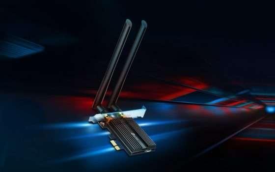 TP-Link Archer TX50E per portare il W-Fi 6 su PC