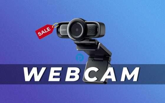 Webcam AUKEY a metà prezzo con questo coupon (-30€)