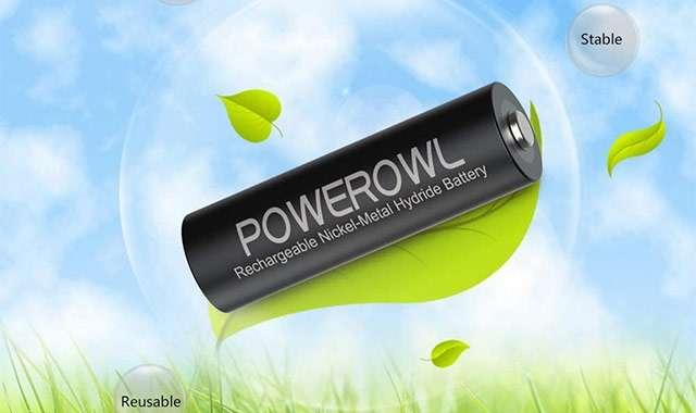Batterie AA ricaricabili