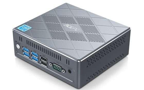 Mini PC con Intel Core i5 8/120GB meno di 300 euro