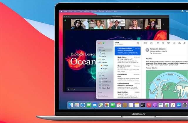 Il MacBook Air di Apple da 13 pollici con processore M1