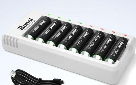 Batterie ricaricabili, che risparmio con questo sconto