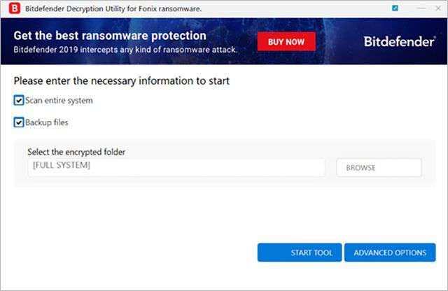 Il decryptor per il ransomware Fonix messo a disposizione da Bitdefender