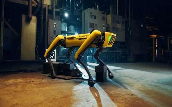 Il robot Spot al fianco dell'esercito francese