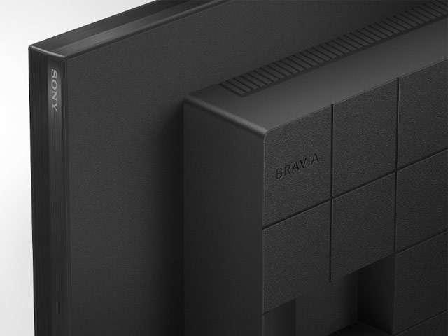 Il retro del display professionale Sony BRAVIA 4K HDR FW-32BZ30J