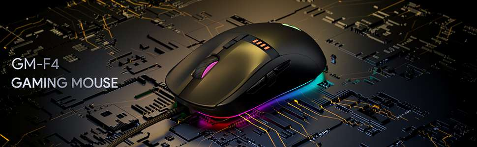mouse da gaming aukey