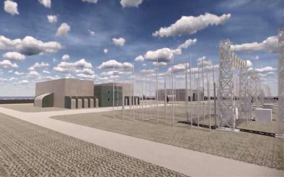 L'isola artificiale che produce energia pulita