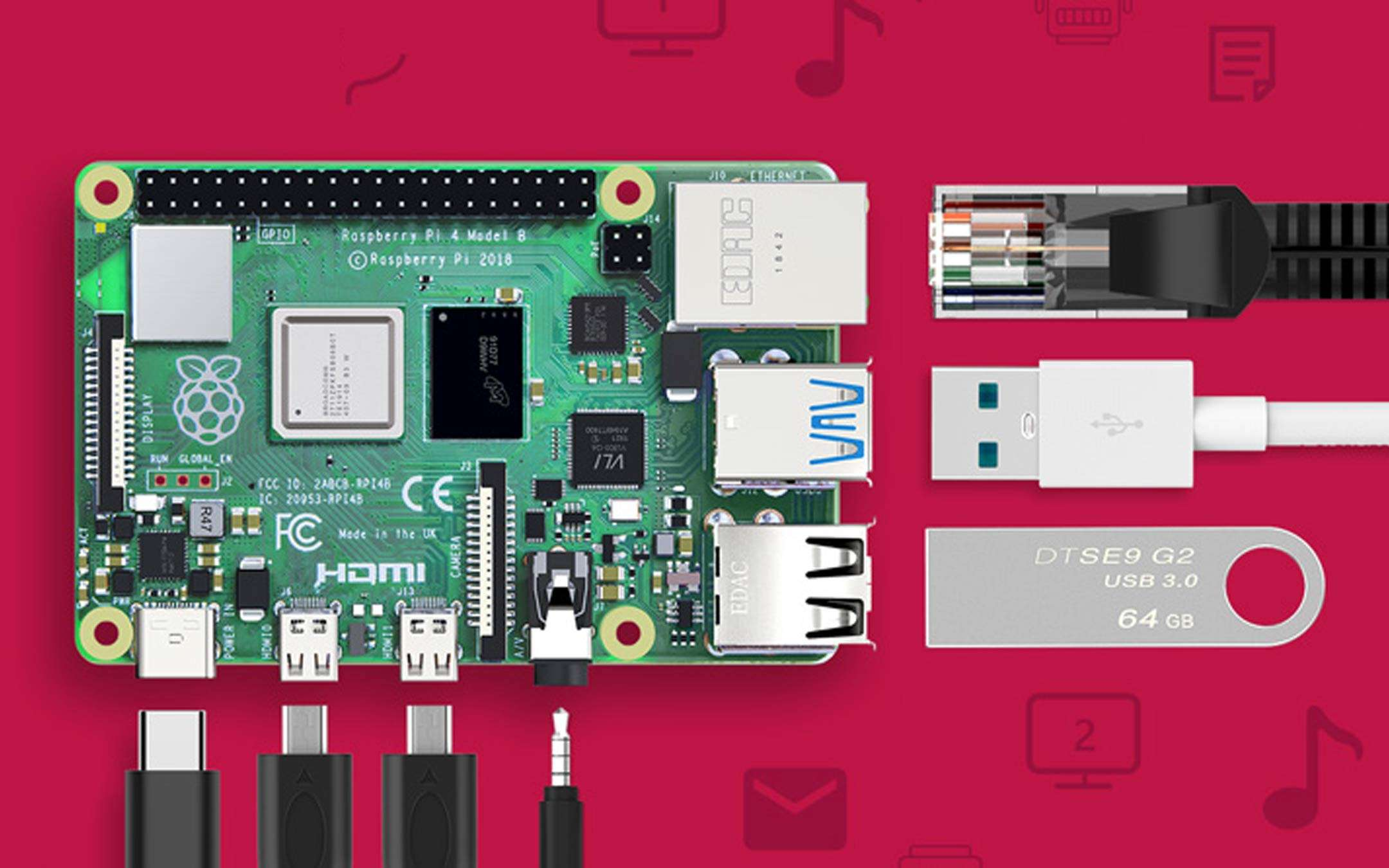 The Raspberry Pi 4 Bqeel kit on flash offer