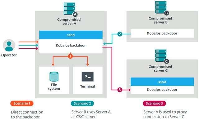 Come funziona il malware Kobalos che attacca i supercomputer con Linux