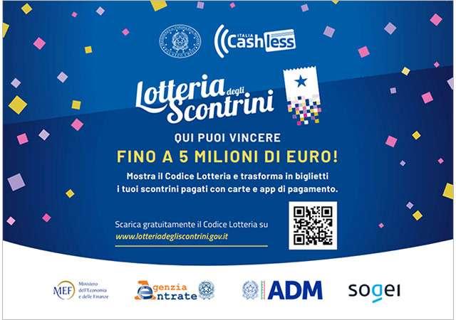 Lotteria degli Scontrini: la locandina per gli esercenti