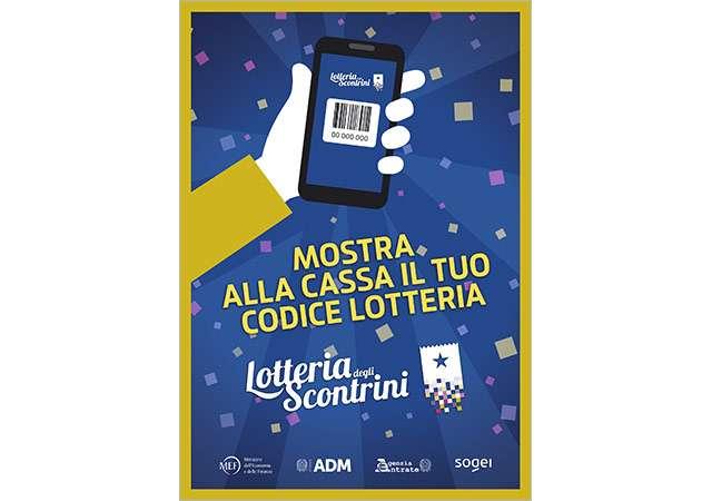 Lotteria degli Scontrini: il volantino per gli esercenti