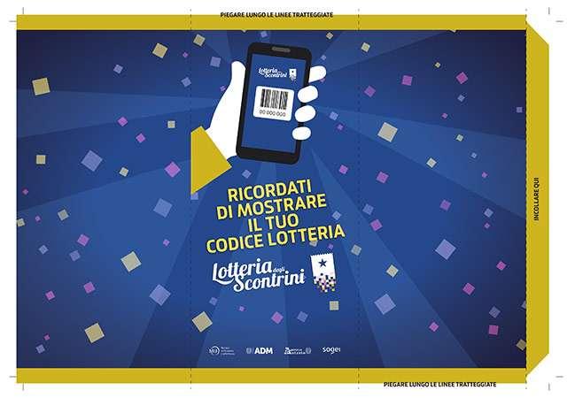 Lotteria degli Scontrini: l'espositore da banco per gli esercenti