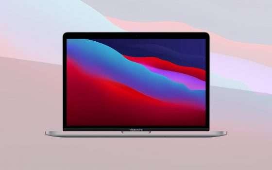 MacBook Pro 13 M1, prezzo minimo: sconto 100 euro