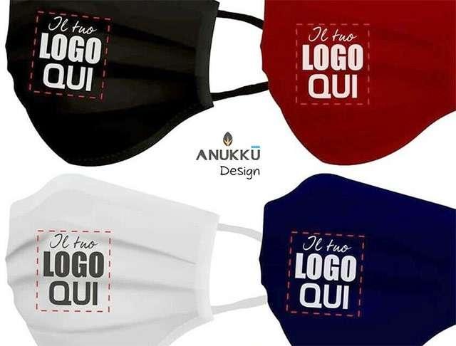 Mascherina personalizzata con il tuo logo