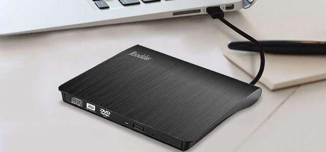 Il masterizzatore CD-DVD esterno di Rioddas