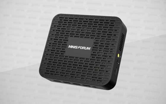 Mini PC: MinisForum GK41, offerta lampo su Amazon