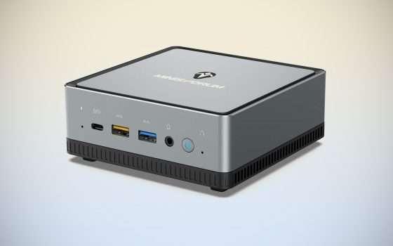 Mini PC Ryzen 5 PRO e 16/512 GB in offerta lampo