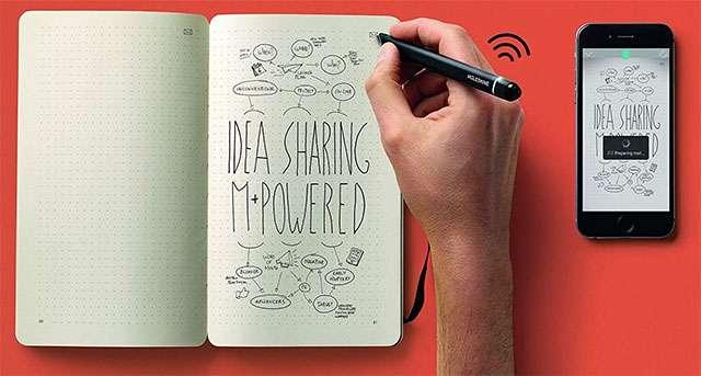 L'agenda Moleskine Smart Writing Set per digitalizzare gli appunti