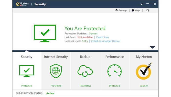 norton antivirus_funzioni