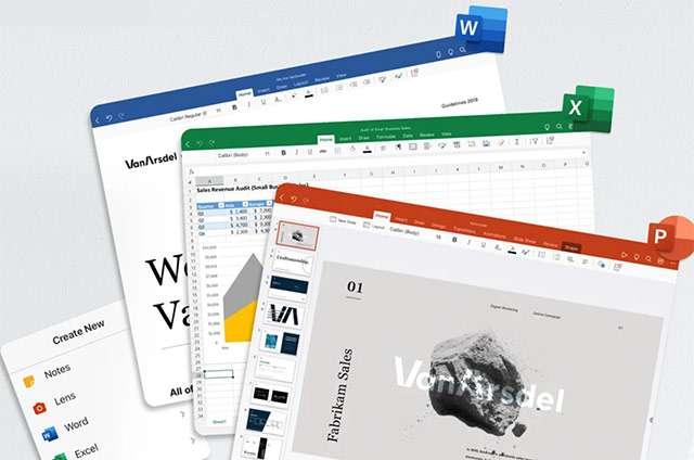 La nuova applicazione di Microsoft Office per iPad