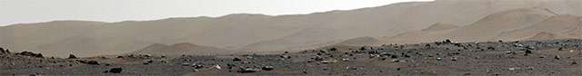Il panorama di Marte catturato dal rover Perseverance
