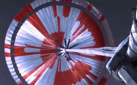 Perseverance, il messaggio nascosto nel paracadute