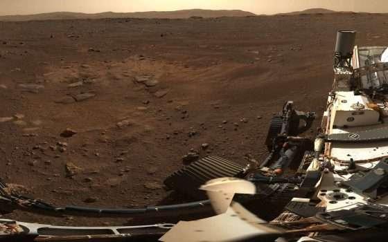 Perseverance ci mostra il panorama di Marte