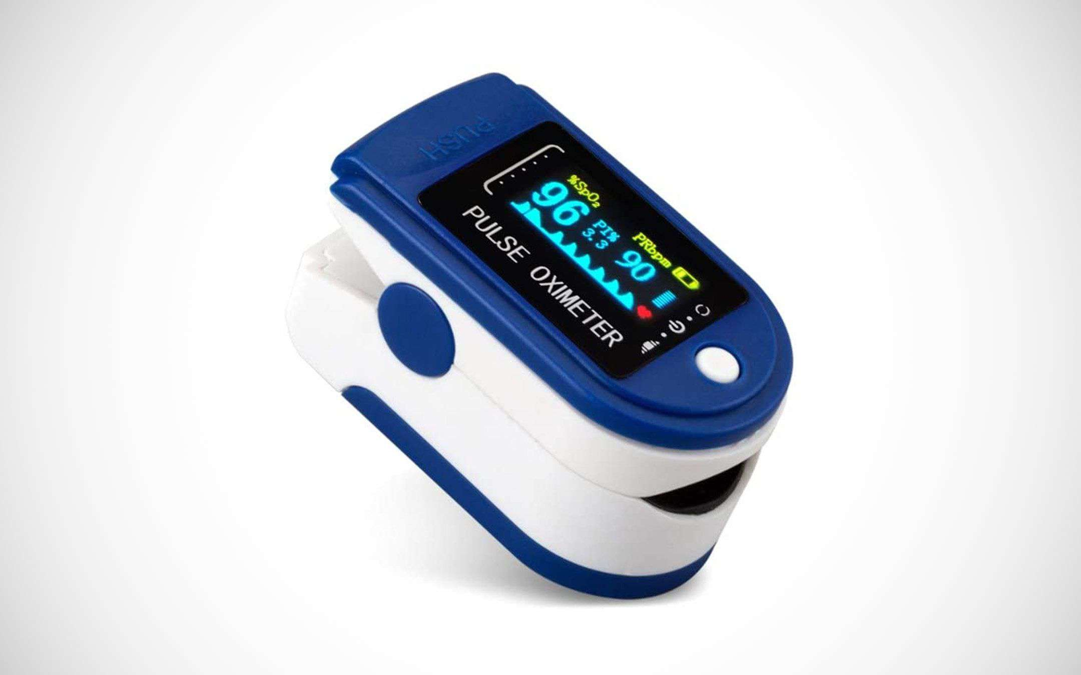 Pulse oximeter-oximeter: the offer on eBay and Amazon