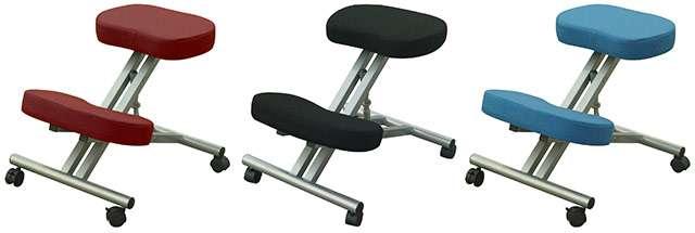 Lo sgabello ergonomico proposto su eBay