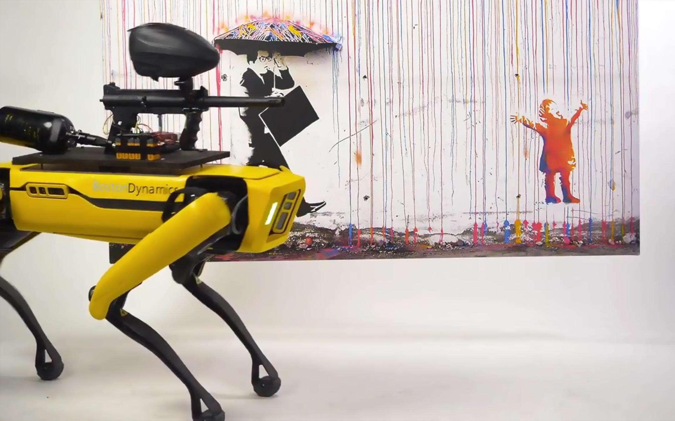 Spot, robot for art: MSCHF's provocation