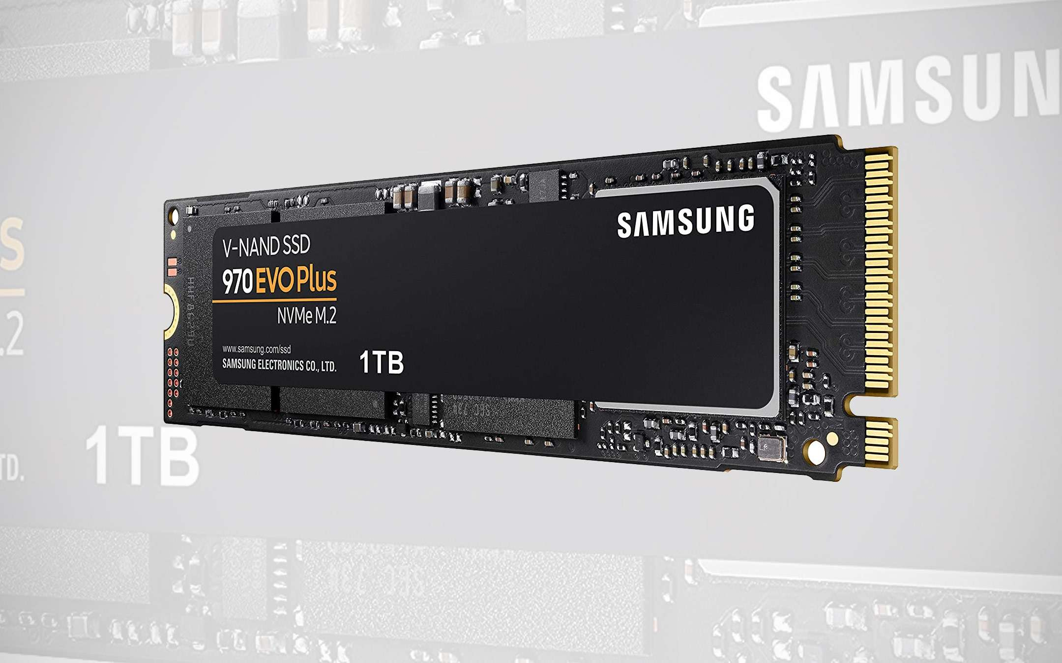 Samsung 970 EVO Plus: 1 TB SSD at a 52% discount