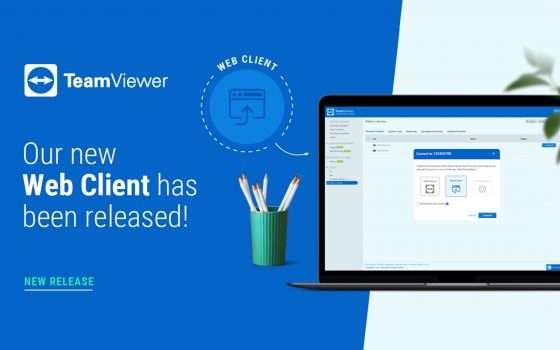 TeamViewer Web Client: basta un browser