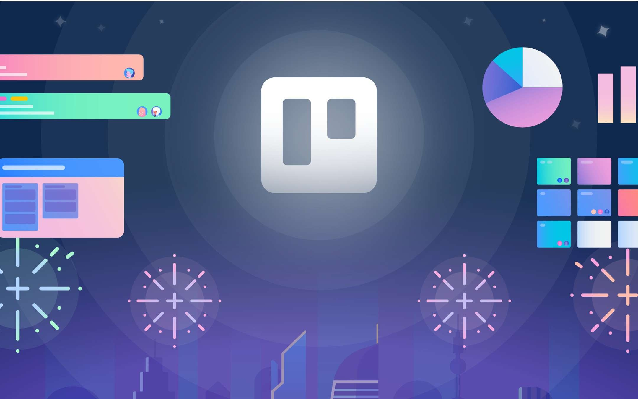 Trello, the news of 2021: graphics, functions, order