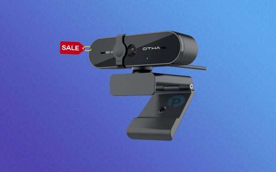 Webcam FullHD disponibile in offerta su Amazon a 25€