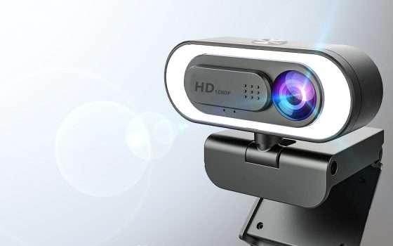 La webcam che ti illumina oggi è in offerta