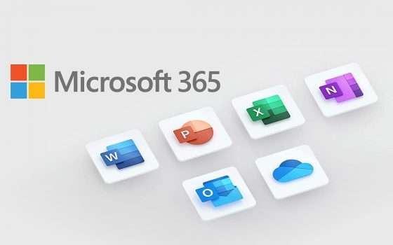 Microsoft 365, offerta bomba per tutta la famiglia