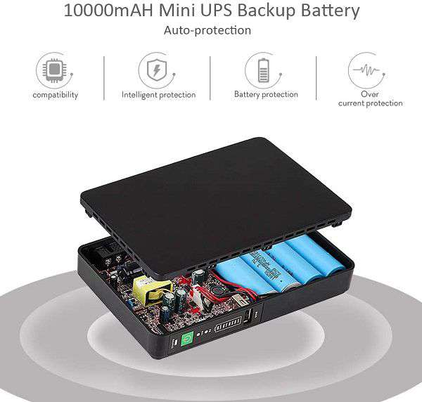 Mini UPS Shanqiu 10000 mAh 48V - 1
