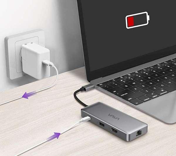 HUB USB Type-C VAVA 8 in 1 - 1