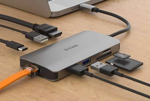 Hub USB Type-C D-Link DUB-M810 - 1