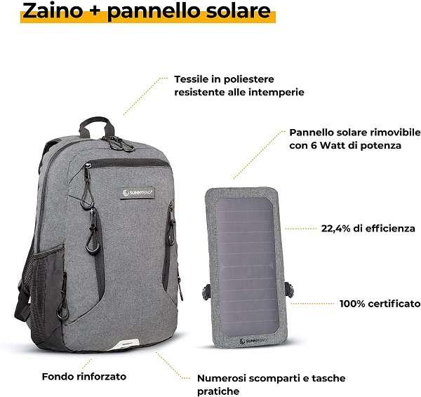 Zaino Pannello Solare SunnyBAG Explorer+ - 1