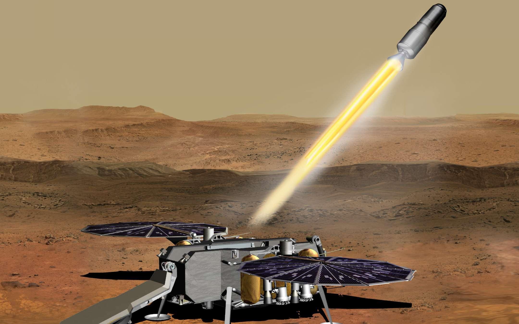 Mars Sample Return Mission: return to Earth