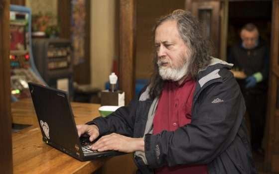 Non c'è posto per Richard Stallman nella community