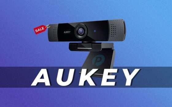 Webcam FullHD AUKEY in offerta con questo coupon (-10€)