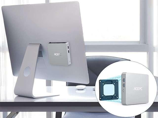 Il Mini PC di ACEPC (modello T11 Plus) con processore Intel Atom